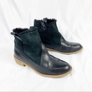 ✨SALE✨ Anthropologie F-Troupe Sherpa Leather Boots